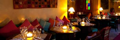 jad Mahal restaurant Marrakech