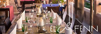 El-Fenn restaurant Marrakech