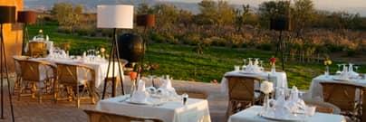 Terres m'barka restaurant Marrakech