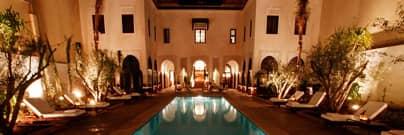 Villa des Orangers restaurant Marrakech