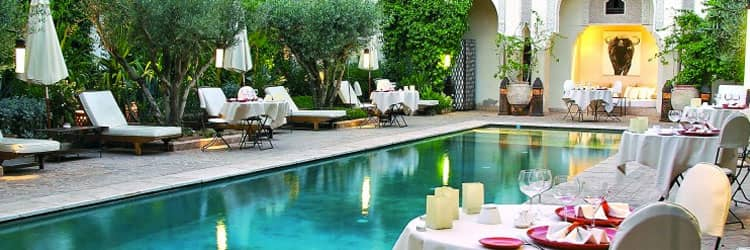 Restaurant Marrakech - La Villa des Orangers