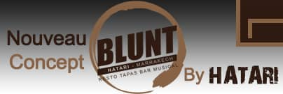 Restaurant marrakech Blunt by Hatari