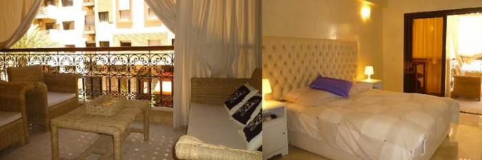 Appartements courtes durées à marrakech