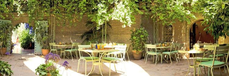 Caf bousafsaf marrakech restaurant du jardin majorelle for Restaurant jardin marrakech