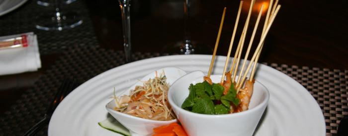 Mai Thai Marrakech Brochette de crevettes