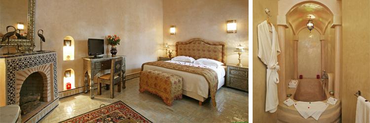 Riad Esprit du Maroc - Chambre Safran