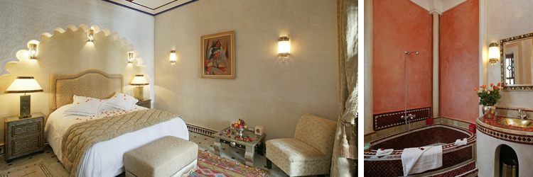 Riad Esprit du Maroc - Chambre Argane