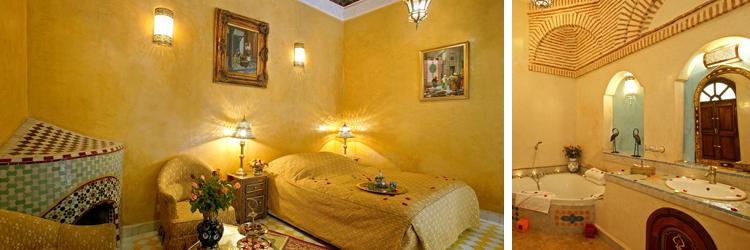 Riad Esprit du Maroc - Chambre Bahia