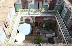couleurs de l'orient terrasse