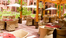 Palm Plaza Marrakech terrasse