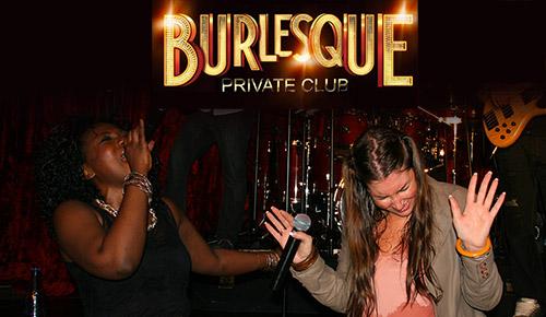Live Burlesque Marrakech chanteuses