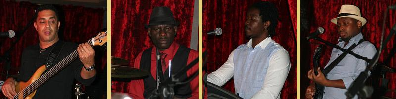 Live Burlesque Marrakech musiciens