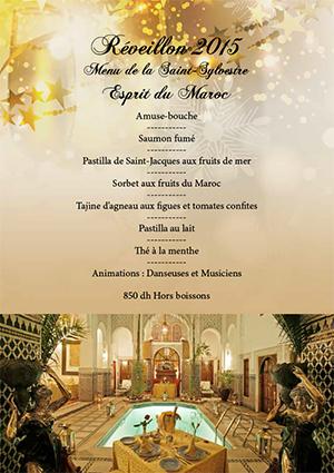 Saint sylvestre marrakech - Restaurant lille reveillon nouvel an ...