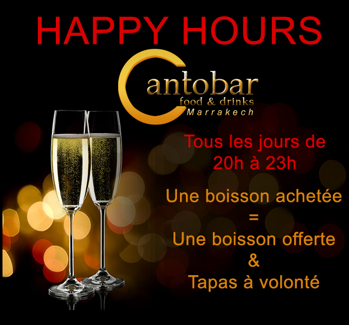 Cantobar Happy Hours