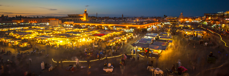 Destination Marrakech