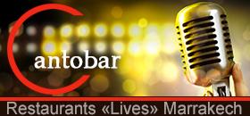 cantobar restaurants lives Marrakech