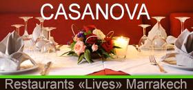 casanova restaurants lives Marrakech