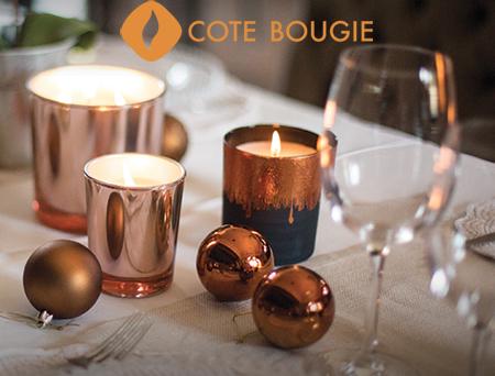 Bougie artisanale - Côté Bougie