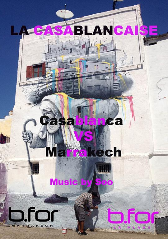 bfor marrakech soirée casablancaise