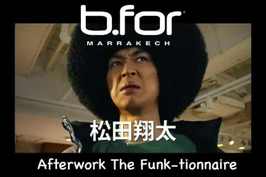 bfor marrakech soirée funk