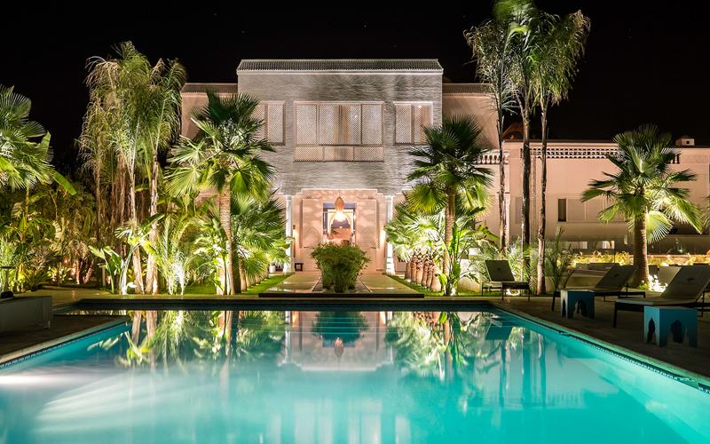 Maison blanche Marrakech