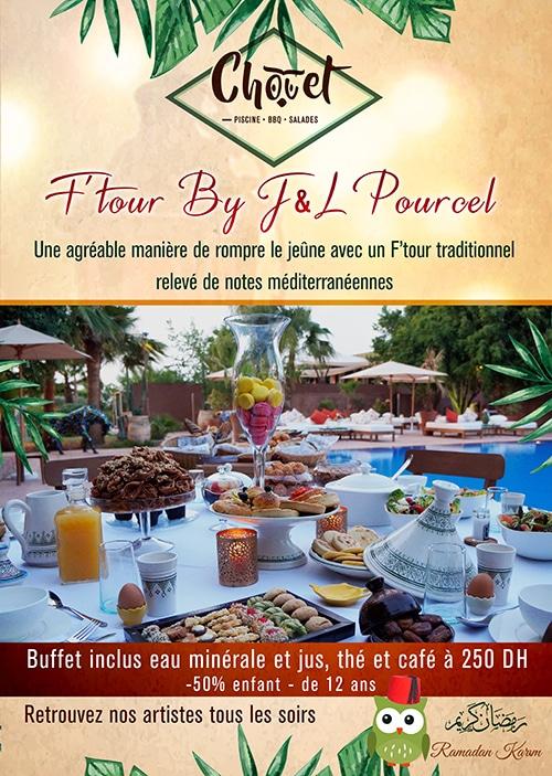 Restaurant Chouet ramadan