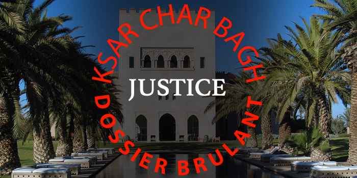 Scandale Ksar Char bagh Marrakech