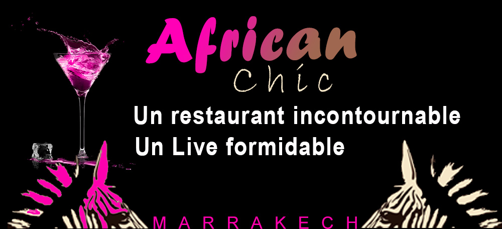 Diner African Chic marrakech