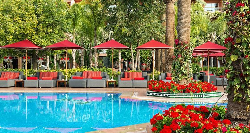 Oasis Restaurant marrakech Sofitel