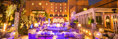 SO Lounge restaurant Marrakech Sofitel