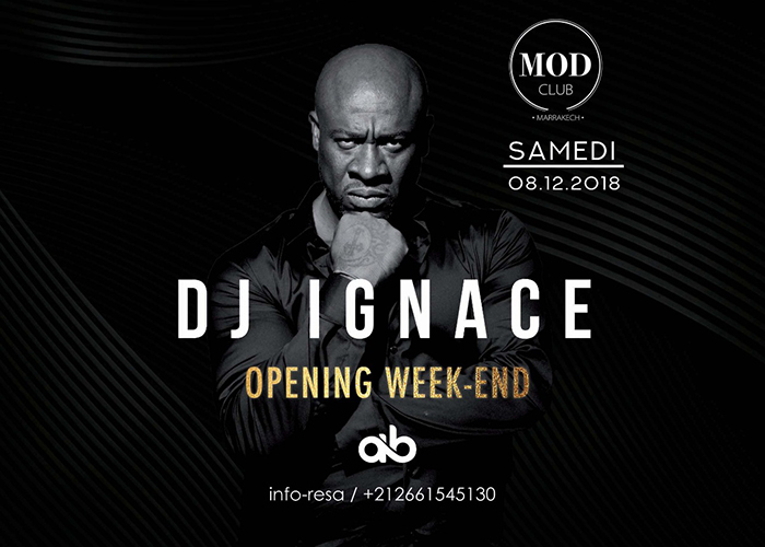 Opening MOD CLUB Marrakech